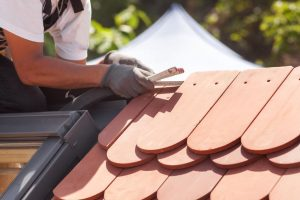 Installing Clay Tiles