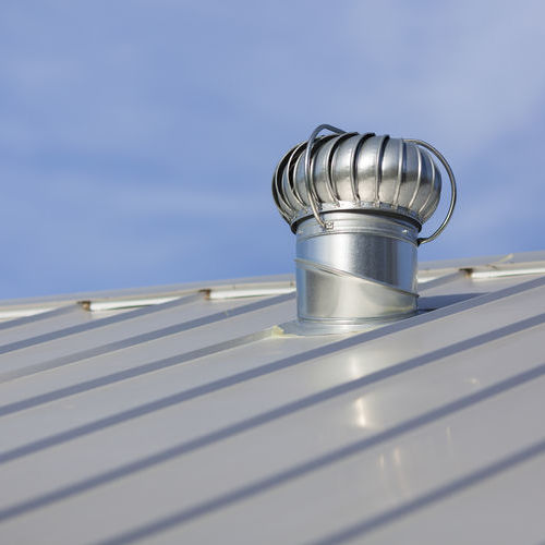 Reflective Metal Roof That is Considered Energy Efficient Roofing