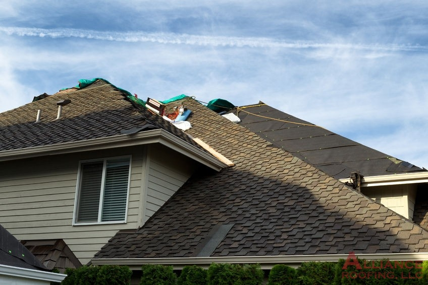 roofers repair residential roof
