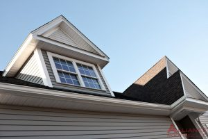 fascia and soffit on outside of house