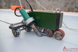 tpo heat sealing machine